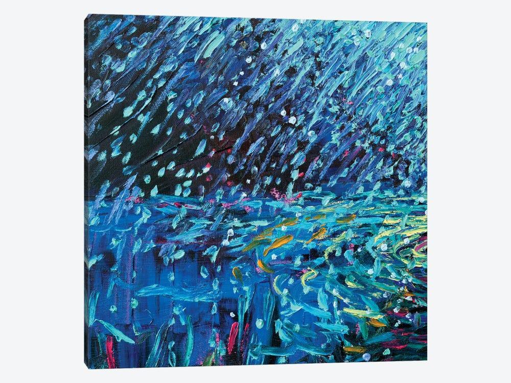 BM 013 by Iris Scott Abstracts 1-piece Canvas Art