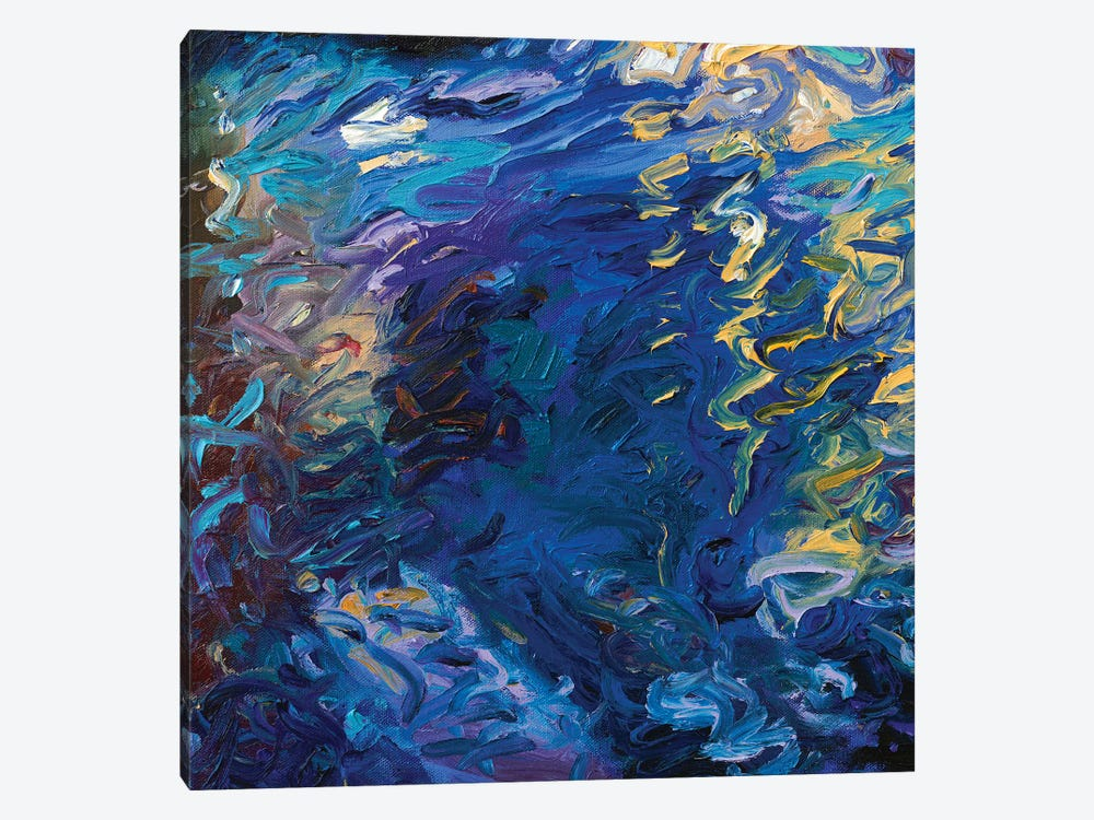 BM 020 by Iris Scott Abstracts 1-piece Canvas Art