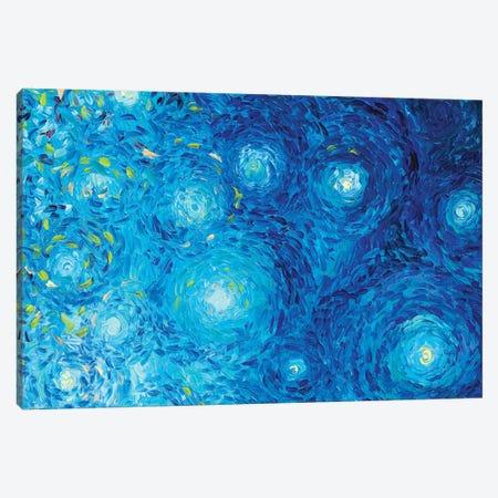 BM 024 Canvas Print #IRSA25} by Iris Scott Abstracts Canvas Artwork