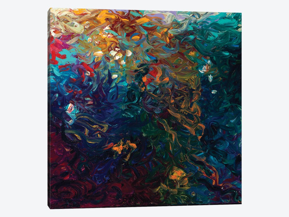 DC 030 by Iris Scott Abstracts 1-piece Canvas Art Print