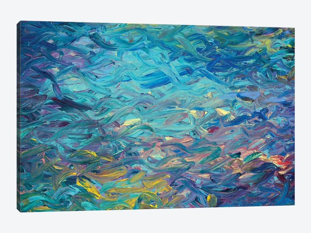 BM 003 by Iris Scott Abstracts 1-piece Canvas Print