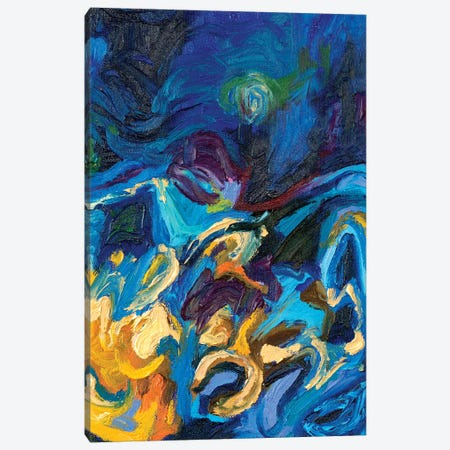 DC 051 Canvas Print #IRSA52} by Iris Scott Abstracts Canvas Wall Art