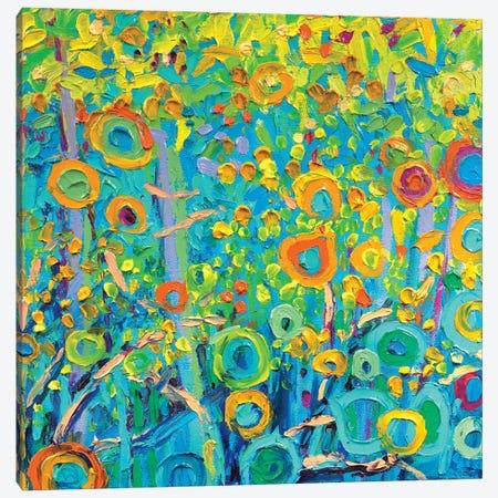 GM 056 Canvas Print #IRSA57} by Iris Scott Abstracts Art Print