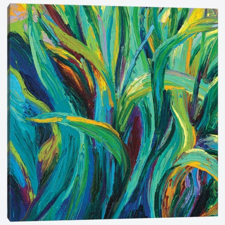 GM 057 Canvas Print #IRSA58} by Iris Scott Abstracts Canvas Wall Art
