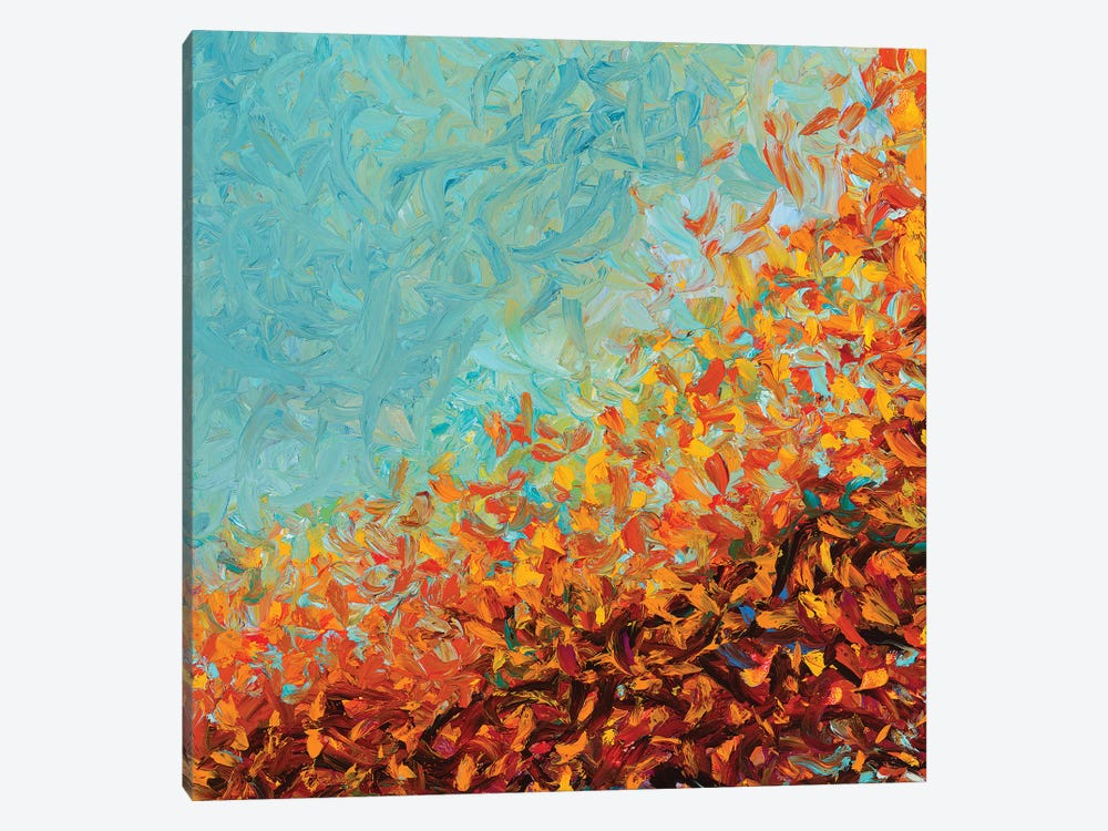 RM 075 by Iris Scott Abstracts 1-piece Canvas Wall Art