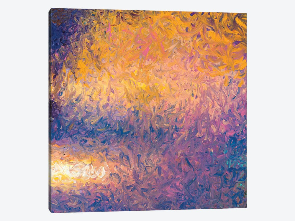 RM 092 by Iris Scott Abstracts 1-piece Canvas Art Print