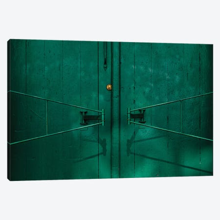 Gate Detail 3-Piece Canvas #ISC3} by Inge Schuster Canvas Print