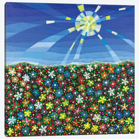 Meadow 3-Piece Canvas #ISK17} by Imogen Skelley Canvas Wall Art