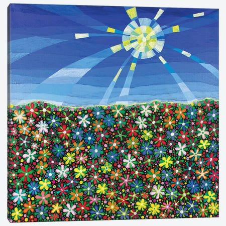 Meadow Canvas Print #ISK17} by Imogen Skelley Canvas Wall Art