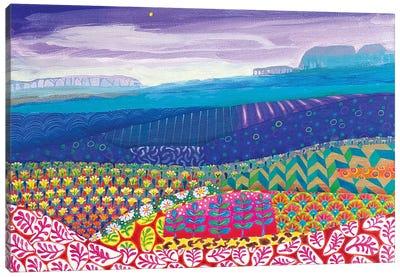 A Hazy Day Canvas Art Print