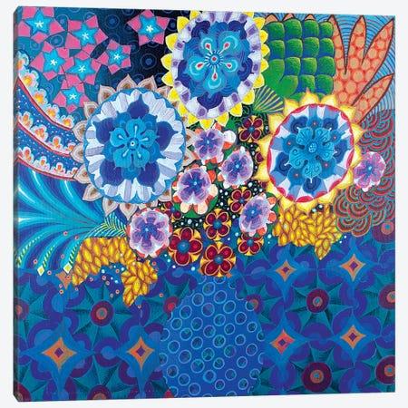 The Blue Vase II Canvas Print #ISK25} by Imogen Skelley Canvas Art Print