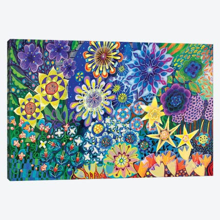 The Stars in the Sky Canvas Print #ISK32} by Imogen Skelley Canvas Print