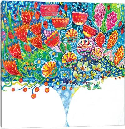 The Unfeasibly Narrow Vase Canvas Art Print