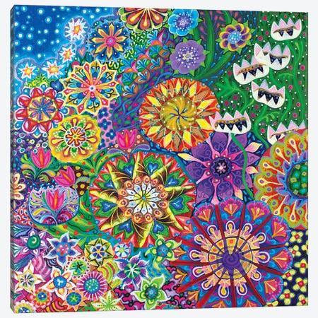 A Stroll in the Garden II 3-Piece Canvas #ISK3} by Imogen Skelley Art Print