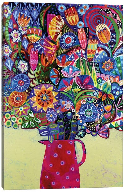 Joy In A Jug Canvas Art Print