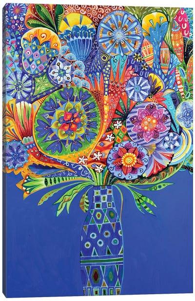 The Geometric Vase II Canvas Art Print