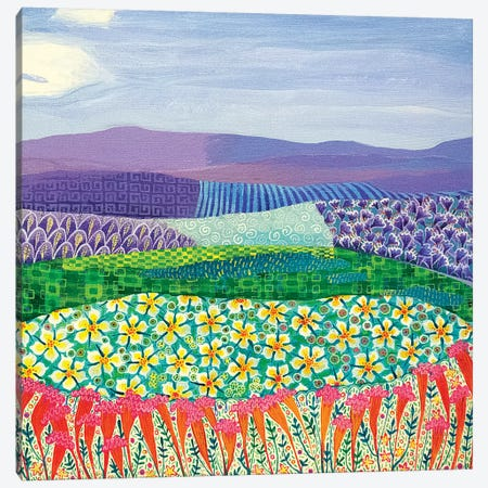 Blowing in the Wind 3-Piece Canvas #ISK9} by Imogen Skelley Canvas Art Print