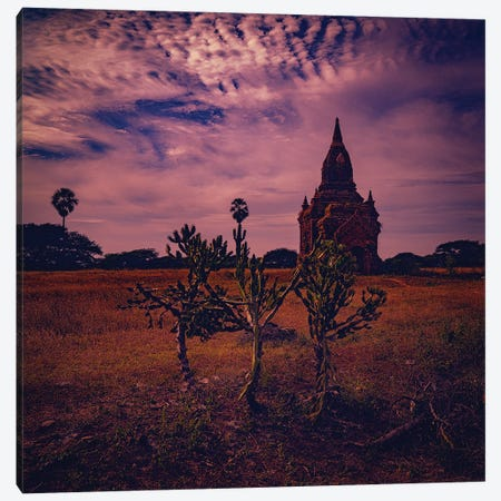 On The Plain Of Bagan Canvas Print #ISL140} by Chris Lord Canvas Art