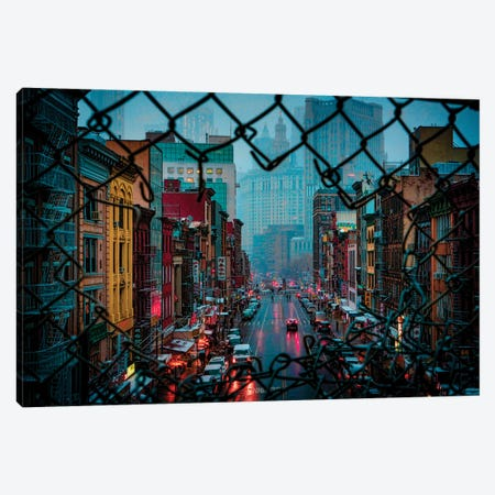 Bad Weather In Chinatown Canvas Print #ISL146} by Chris Lord Canvas Print
