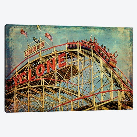 On The Cyclone Canvas Print #ISL176} by Chris Lord Canvas Art