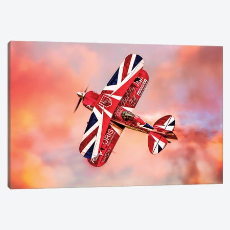 Pitts Special Canvas Print #ISL255} by Chris Lord Art Print