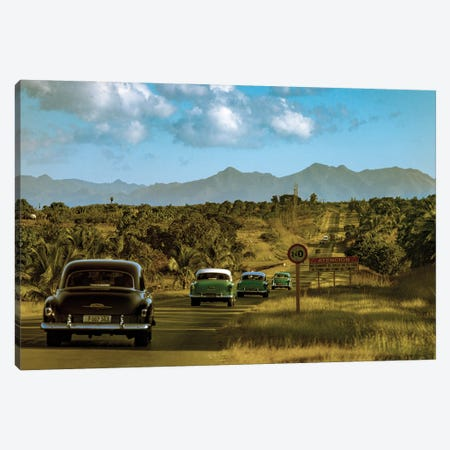 On The Road To Trinidad Canvas Print #ISL42} by Chris Lord Canvas Print