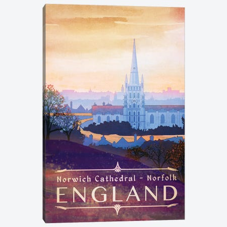 England-Norfolk Canvas Print #ISS10} by Missy Ames Canvas Art Print