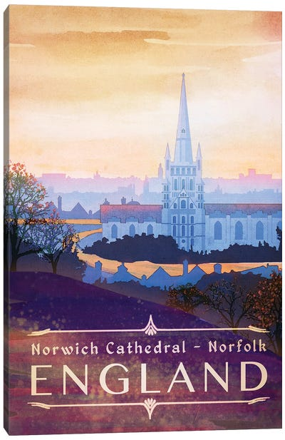England-Norfolk Canvas Art Print