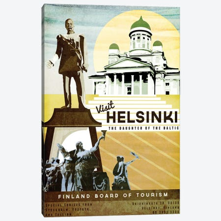 Finland-Helsinki Canvas Print #ISS11} by Missy Ames Canvas Art Print