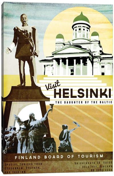 Finland-Helsinki Canvas Art Print