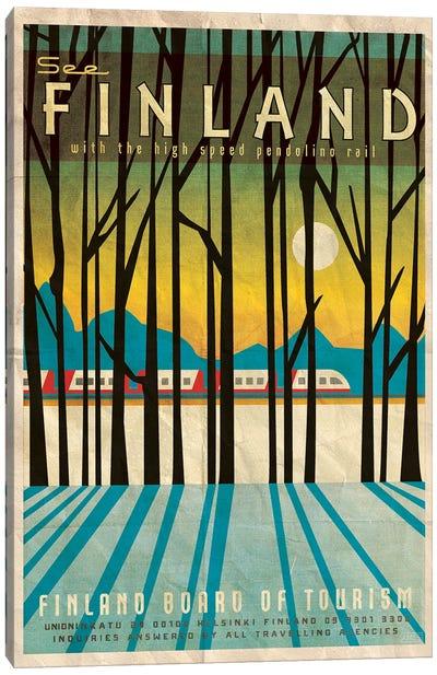 Finland-Pendolino Canvas Art Print