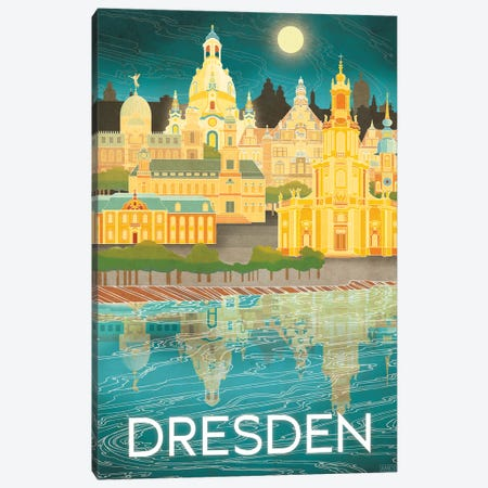 Germany-Dresden Canvas Print #ISS14} by Missy Ames Canvas Wall Art