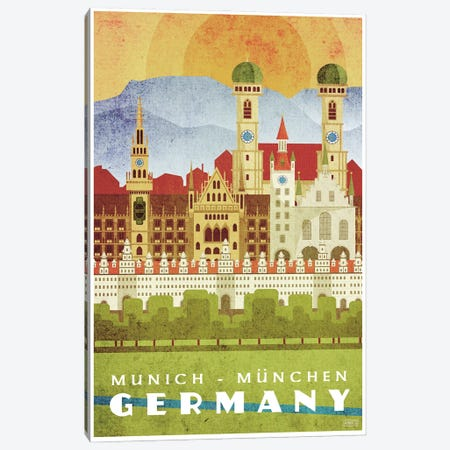 Germany-Munich Canvas Print #ISS15} by Missy Ames Canvas Art