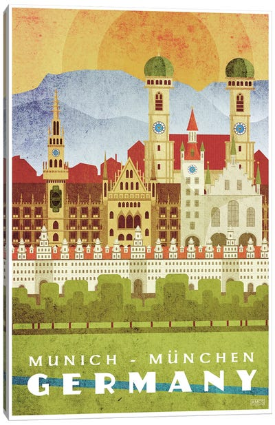 Germany-Munich Canvas Art Print