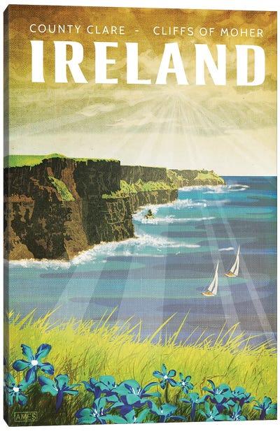 Ireland-Cliffs Of Moher Canvas Art Print