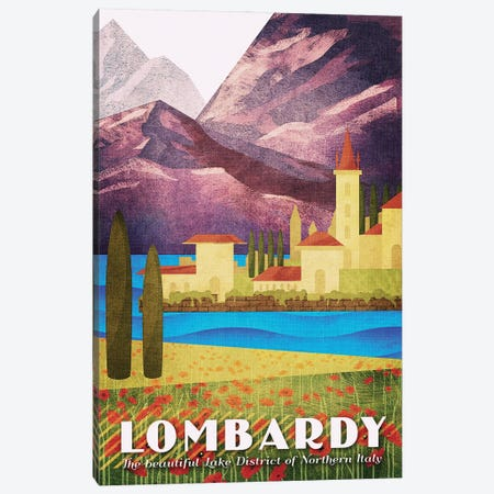 Italy-Lombardy Canvas Print #ISS18} by Missy Ames Canvas Print