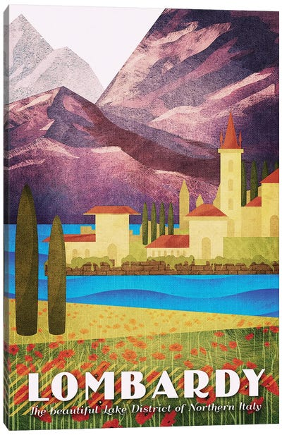 Italy-Lombardy Canvas Art Print