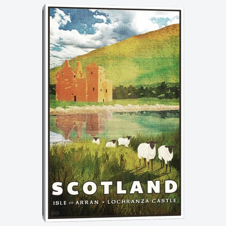 Scotland-Arran Canvas Print #ISS20} by Missy Ames Canvas Art