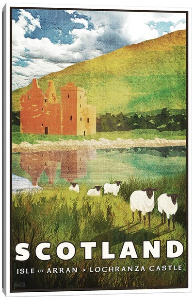Scotland-Arran Canvas Art Print