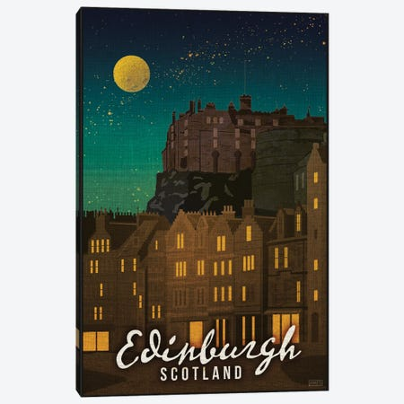 Scotland-Edinburgh Canvas Print #ISS21} by Missy Ames Canvas Art