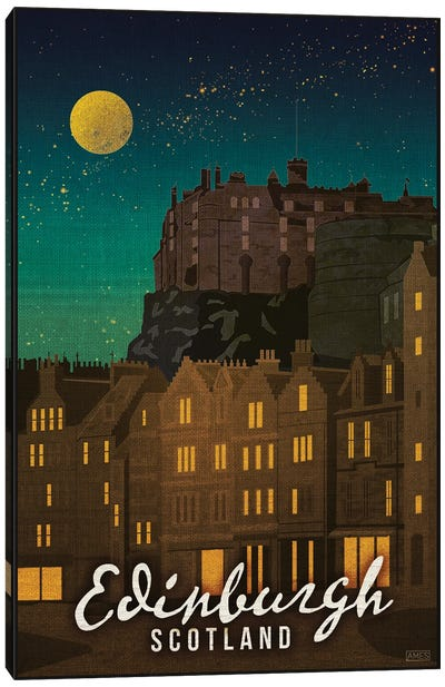 Scotland-Edinburgh Canvas Art Print