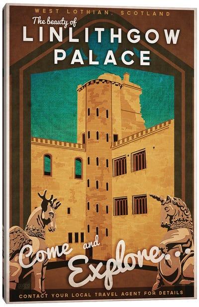 Scotland-Linlithgow Palace Canvas Art Print