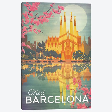 Spain-Barcelona Canvas Print #ISS24} by Missy Ames Canvas Art Print
