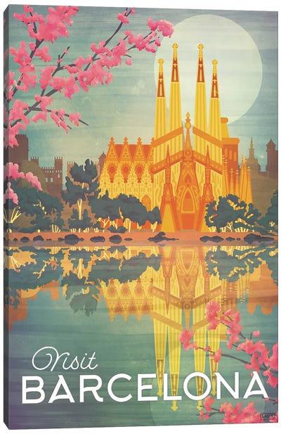 Spain-Barcelona Canvas Art Print