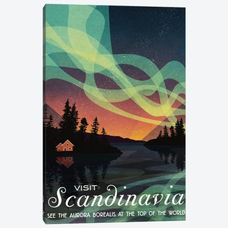 Sweden-Scandinavia Canvas Print #ISS25} by Missy Ames Canvas Art Print