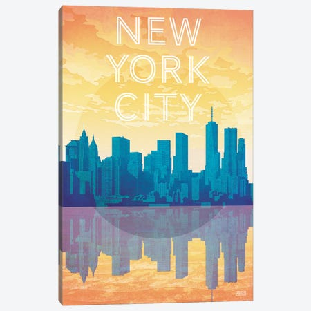 USA-New York City Canvas Print #ISS27} by Missy Ames Art Print
