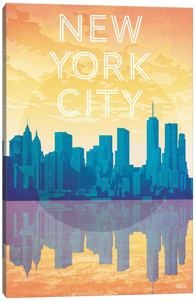 USA-New York City Canvas Art Print