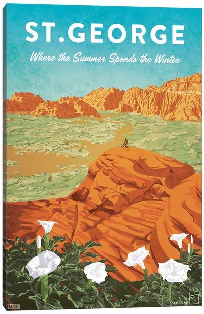 USA-Utah St George Canvas Art Print