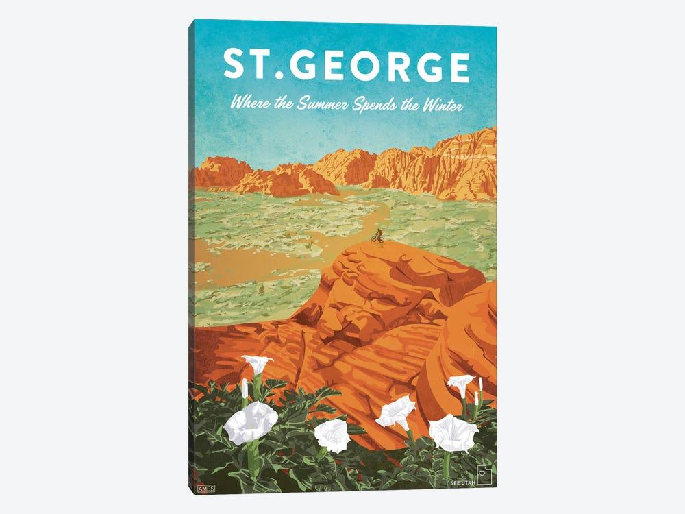 USA-Utah St George by Missy Ames 1-piece Canvas Wall Art