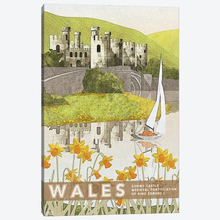 Wales-Conwy Canvas Print #ISS29} by Missy Ames Canvas Wall Art